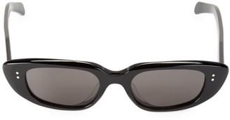 Celine 51MM Narrow Oval Sunglasses