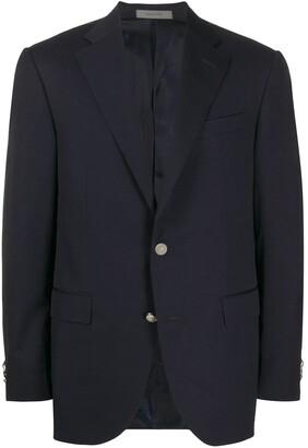 Corneliani Single-Breasted Fitted Blazer