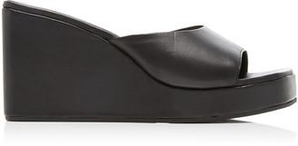 Simon Miller Level Leather Wedges