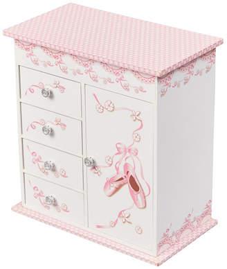Mele Cristiana Girl Musical Ballerina Jewelry Box