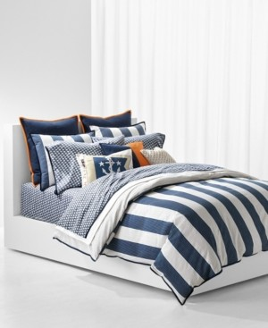 Lauren Ralph Lauren Casey Stripe Full/Queen Duvet Set Bedding