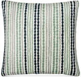 "Donna Karan CLOSEOUT! DKNY Loft Stripe Indigo 16"" Square Decorative Pillow"