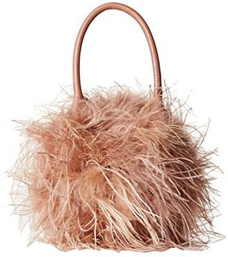 Loeffler Randall Zadie Feather Circle Tote (Buff Pink/Buff Pink) Tote Handbags