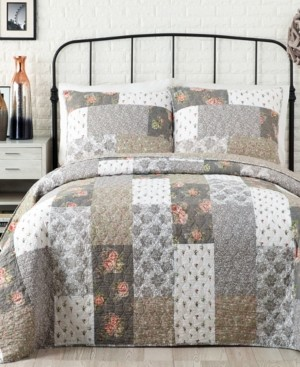 Jessica Simpson Floribunda Cotton King Quilt