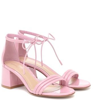 Gianvito Rossi Sydney 60 patent leather sandals