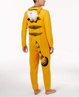 Briefly Stated Men's Garfield Costume Jumpsuit Pajamas