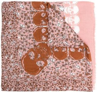 Zadig & Voltaire Kerry garden-print scarf
