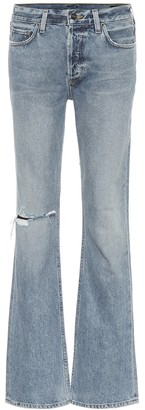Gold Sign The Nineties Boot high-rise jeans