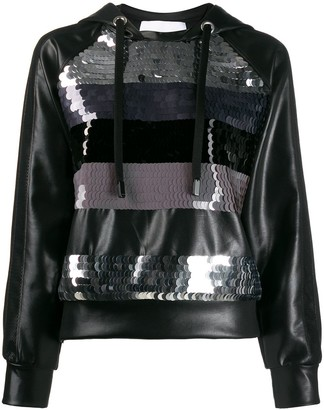 NO KA 'OI Sequin Embroidered Hoodie