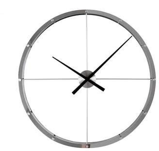 Stilnovo Giant Aluminum Steel Wall Clock