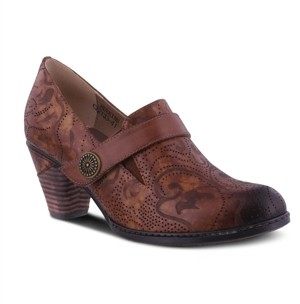 L'Artiste Women's Huekiss Laser Etched Floral Shooties Women's Shoes
