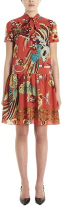 RED Valentino Bird Of Paradise Mini Dress