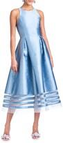 Thumbnail for your product : Sachin + Babi Jewel-Neck Sleeveless Mikado Fit-&-Flare Dress