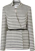 LK Bennett L.K.Bennett Cora Monochrome Stripe Jacket