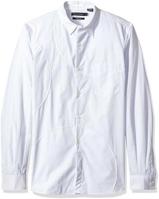French Connection Men's Multi Spot Patch Shirt Regular