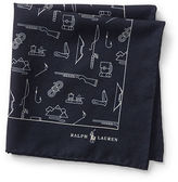 Polo Ralph Lauren Camping Wool Pocket Square