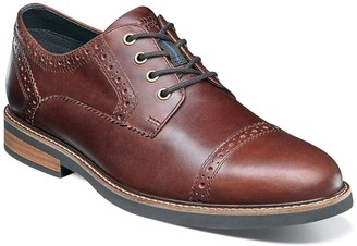 Nunn Bush Overland Cap Toe Oxford - Wide Width Available