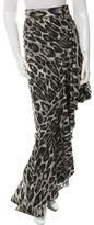 Lanvin Leopard Print Skirt w/ Tags