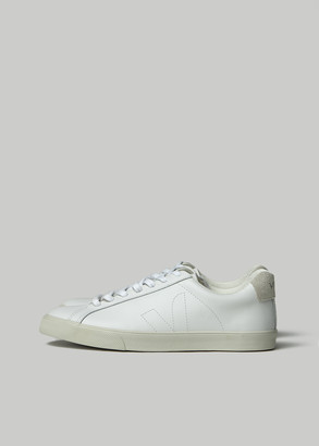 Veja Women's Esplar Shoes in White Size 36 Leather