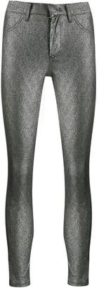 Dondup metallic stitched leggings