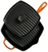 Le Creuset Panini Press and Skillet Grill Set in Flame