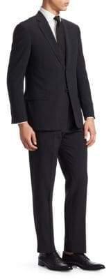Emporio Armani Wool Seersucker G Line Suit