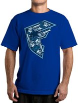 Famous Stars & Straps Men's Armament T Shirt Royal Blue M