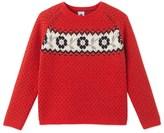 Petit Bateau Girls jacquard sweater