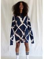 Aries Argyle Bleached T-Dress