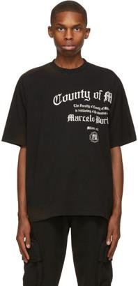 Marcelo Burlon County of Milan Black County Degree Over T-Shirt