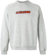 Sunnei 'La Solitudine' print sweatshirt