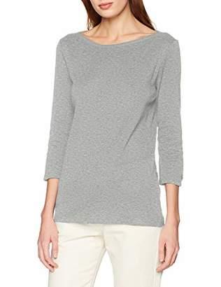 Benetton Women's T.Shirt Manica 3/4 Collo Barchetta Long Sleeve Top,X-Small