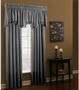 Croscill 84-Inch Rod Pocket Window Curtain Panel in Grey
