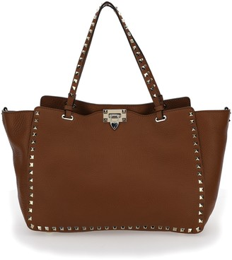Valentino Rockstud Medium Tote Bag