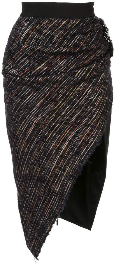 Maticevski asymmetric pencil skirt