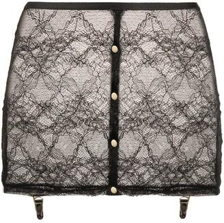 Maison Close Lace Suspender Skirt