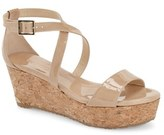 Jimmy Choo Women's 'Portia' Cork Platform Wedge Sandal