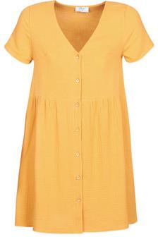 Betty London MARDI women's Dress in Yellow