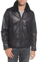 Vince Camuto Men's Genuine Shearling Leather Jacket