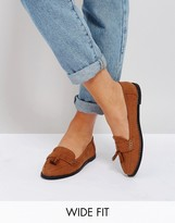 London Rebel Wide Fit Loafers