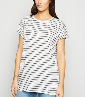 New Look Stripe Long T-Shirt