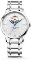 Baume & Mercier Classima 10275 Open Balance Stainless Steel Bracelet Watch