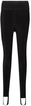 Victoria Beckham High-rise stirrup leggings