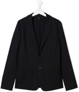 Emporio Armani Kids TEEN fitted formal blazer