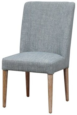 Foundry Select Rothsay Upholstered Solid Wood Parsons Chair Upholstery Color: Teal