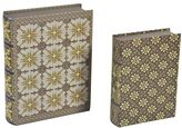 Element 2-piece Geometric Book Box Set