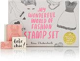 Chronicle Books My Wonderful World of Fashion Stamp Set