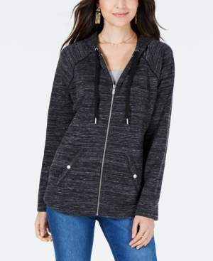 Style&Co. Style & Co Petite French Terry Zip Hoodie, Created for Macy's