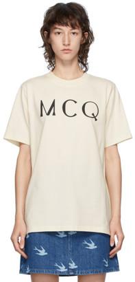 McQ Off-White Logo T-Shirt