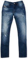 Diesel Boys 8-20) Darron-R Regular Slim-Tapered Jeans